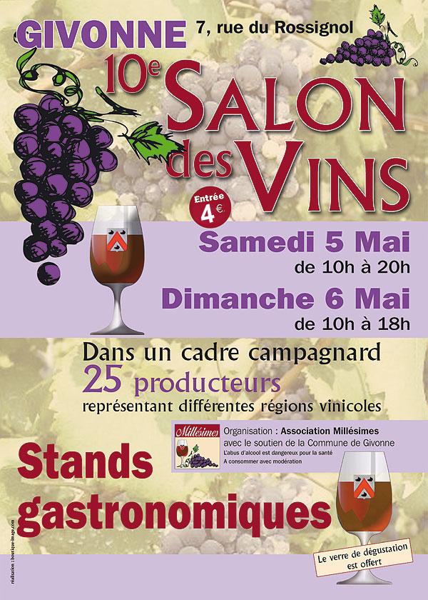 10 ème Salon des Vins de Givonne dans les Ardennes