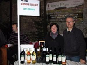 Les viticulteurs sedanais du Domaine Turenne étaient eux aussi au rendez-vous.