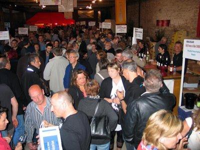 Les bénévoles de l'association Millésimes sont satisfaits de cette foire aux vins.